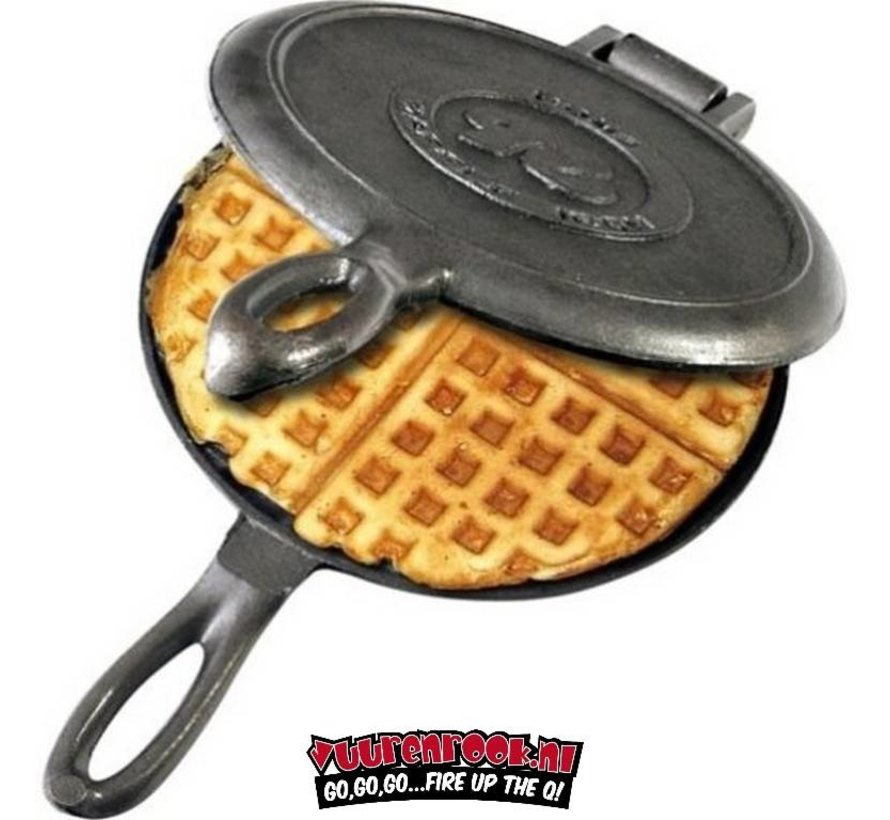 Rome's Pie Iron Old Fashioned Waffle Iron