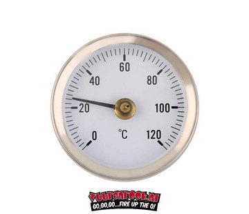 Vuur&Rook Vuur&Rook RVS Thermometer 60mm