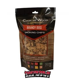 Cook in Wood Cook In Wood Brandy Rookchips 360 gram