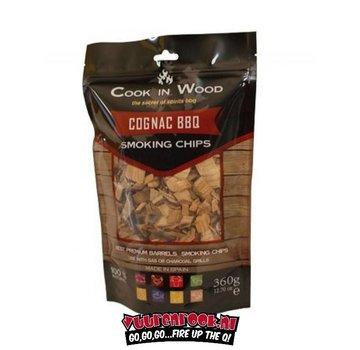 Cook in Wood Cook In Wood Cognac Rookchips 360 gram