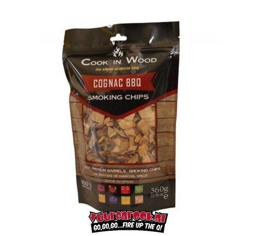 Cook in Wood Cook In Wood Cognac Smoke Chips 360 grams