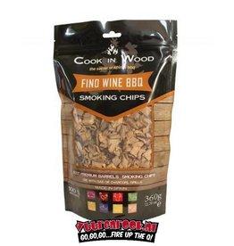 Cook in Wood Cook In Wood Fino Wijn Rookchips 360 gram