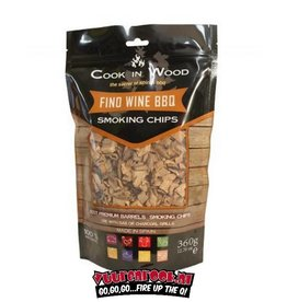 Cook in Wood Cook In Wood Fino Wine Smoke Chips 360 grams