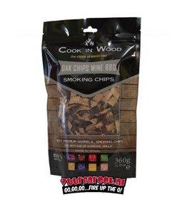 Cook in Wood Cook in Wood Eiken/Wijn Rookchips 360 gram