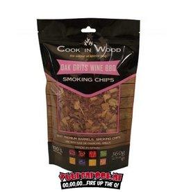 Cook in Wood Cook In Wood Eiken Rookchips 360 gram