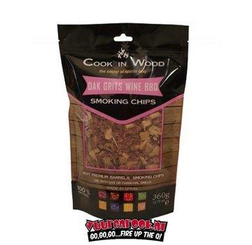 Cook in Wood Cook In Wood Oak Smoke Chips 360 grams