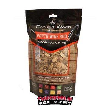 Cook in Wood Cook In Wood Porto Wijn Rookchips 360 gram
