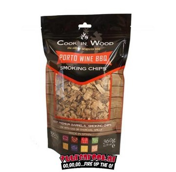 Cook in Wood Cook In Wood Porto Wine Smoke Chips 360 grams