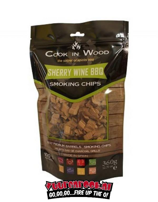 Cook in Wood Cook In Wood Sherry Smoke Chips 360 grams