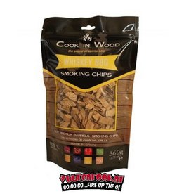 Cook in Wood Cook In Wood Whiskey Smoke Chips 360 grams