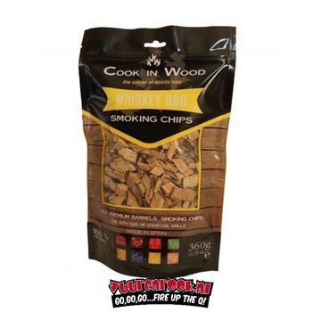 Cook in Wood Cook In Wood Whisky Rookchips 360 gram