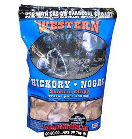 Western Western Hickory Smoking chips 850 grams