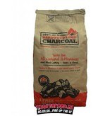 All Natural All Natural Hardwood Lump Charcoal 4,5 kilo + FREE Fatwood Sticks