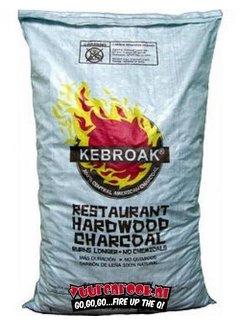 Kebroak Kebroak Restaurant Hardwood Charcoal 40lbs / 18,2 kilo