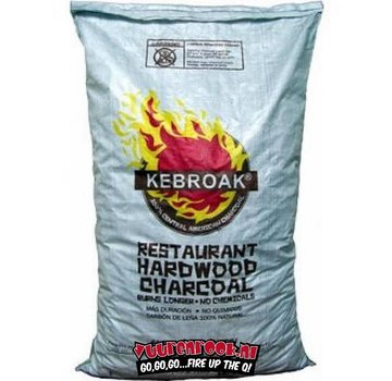 Kebroak Kebroak Restaurant Hardwood Charcoal 40lbs / 18,2 kilo