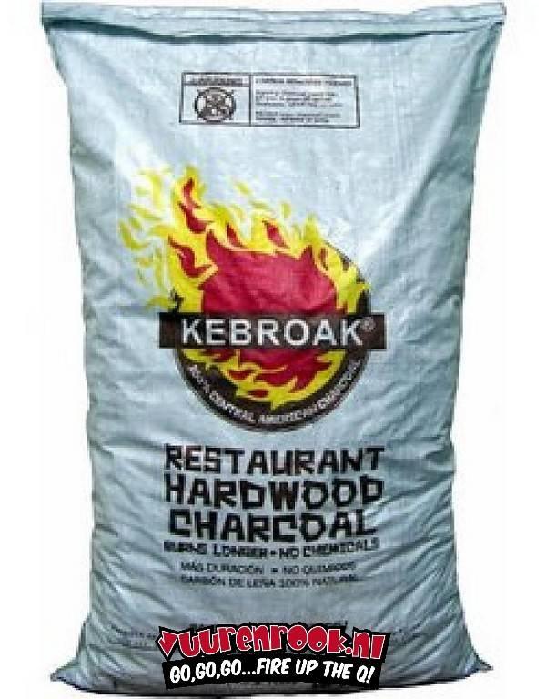 Kebroak Restaurant Hardwood Charcoal 40lbs / 18,2 kilo