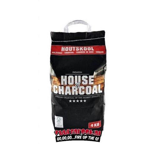 House of Charcoal House of Charcoal Horeca Houtskool 4 kg