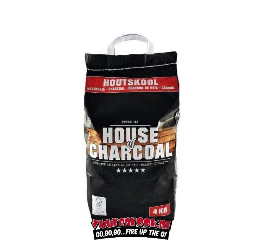 House of Charcoal Horeca Houtskool 4 kg