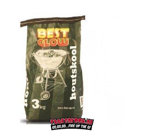 BUDGET Best Glow Houtskool 3 kg