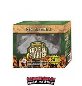 Coshell Coshell Coconut Eco Fire Block 24 pieces