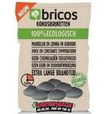 Bricos Kokos briketten 3 kilo (pilow shape)
