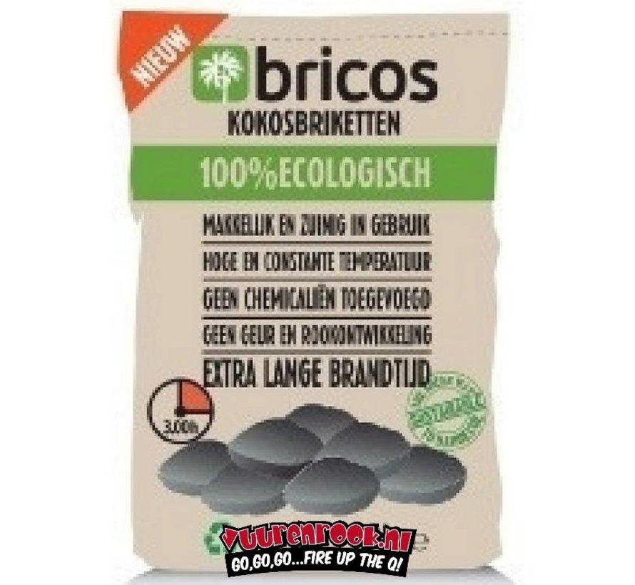 Bricos Kokosbriketten 3 Kilo AA (Pillow Shape)