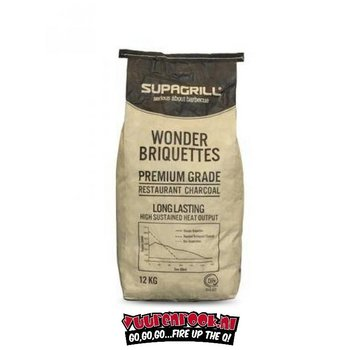 Supagrill Supagrill Paraguay Hardwood Briquettes 12 kg