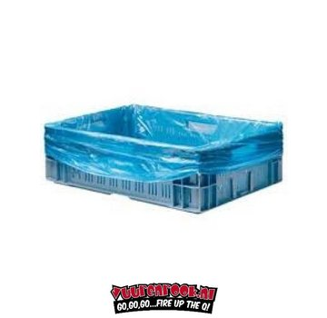 Vuur&Rook Crate bags 1000st Blue