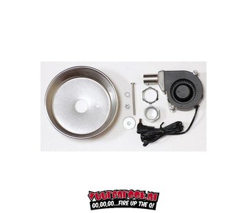 Flame Boss Flame Boss Universal blower and assambly with Manifold  (kettle, drum, mountain)