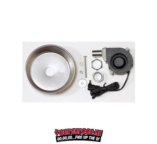 Flame Boss Universal blower and assambly with Manifold  (kettle, drum, mountain)