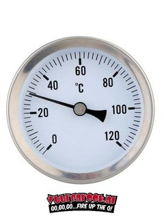 Smoki Smoki Thermometer RVS  0-120℃ 80mm