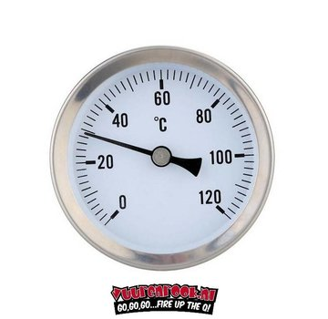 Smoki Smoki Thermometer Stainless steel 0-120 ℃ 60mm