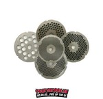 Meat grinder plates
