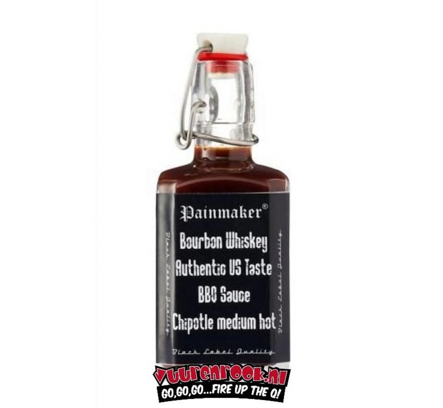 Painmaker Bourbon Whiskey BBQ Chipotle