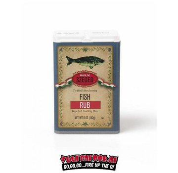 Szeged Szeged World's Best Fish Rub 142 gram