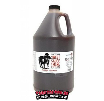 Sweet Swine Sweet Swine o Mine Sweet & Spicy Vinegar BBQ Sauce 1 Gallon