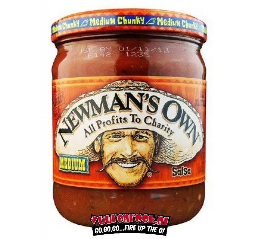 Newman's Own Medium Chunky Salsa