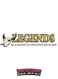Legends Legends Hickory Smoked Salt 1 kilo (Gerookt Zout)