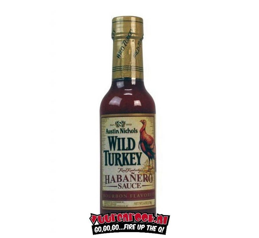 Austin Nichols Wild Turkey Bourbon Habanero Sauce