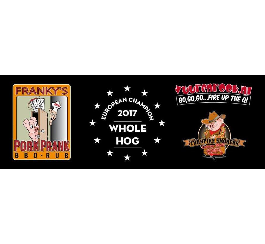Franky's Pork Prank (BBQ-On) Award Winning Pork Rub  Bulk Bag 10 kilo
