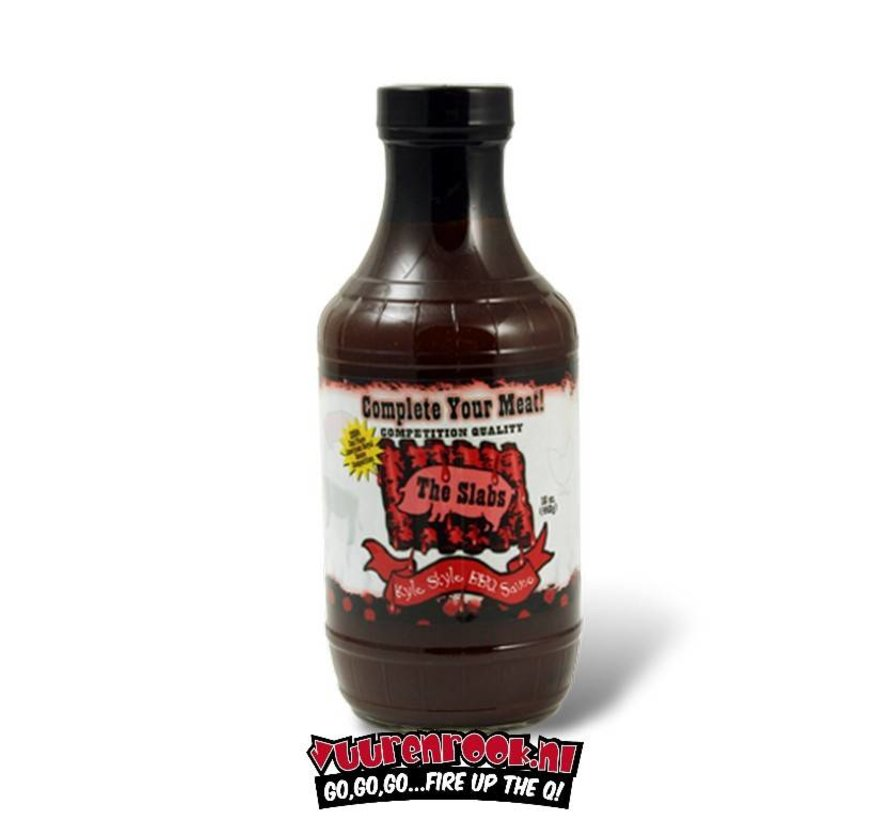 Slabs Complete Your Meat BBQ Sauce 16oz