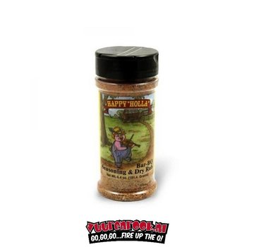 Happy Holla Happy Holla Bar-BQ Dry Rub 6.3oz
