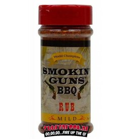 Smokin Guns Smokin' Guns BBQ Mild Rub