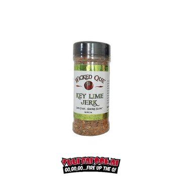 Wicked Que Wicked Que Key Lime Jerk 5oz