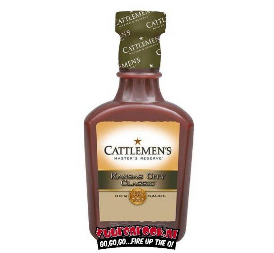 Cattlemen's Kansas City Classic BBQ Sauce 17.9oz