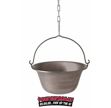 Big BBQ Big BBQ Iron Stewing Pot (stalen stoofpot) 36cm / 14ltr