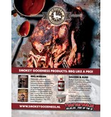 Smokey Goodness Smokey Goodness Het Ultieme BBQ Boek GESIGNEERD!