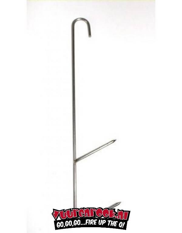 RVS Witvis/Forel/Makreel Rookhaak 170/2mm 5 st.