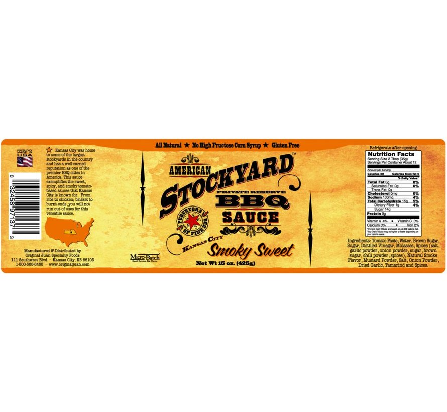 Stockyard Smoky Sweet 1 Gallon