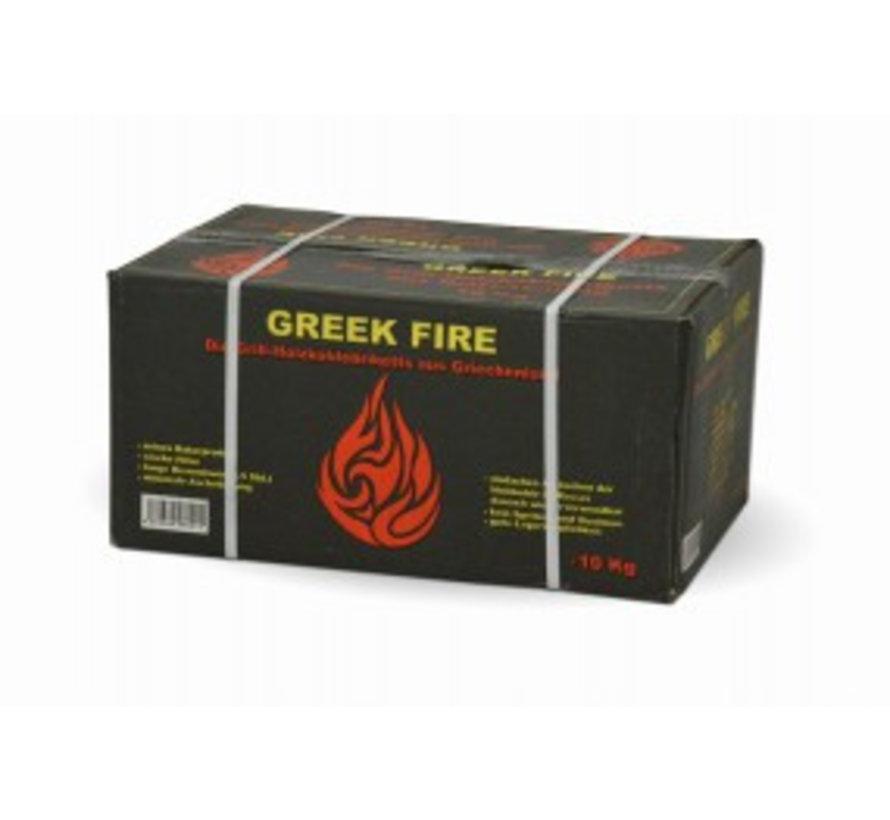 Greek Fire Briketten 10 kg (Tubes)
